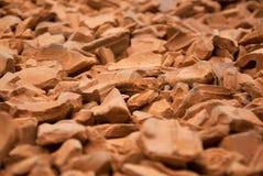 Bricks pile Royalty Free Stock Photos
