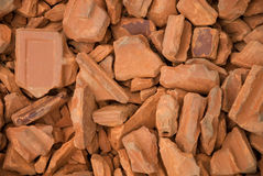 Bricks pile Stock Photo