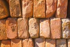 Bricks Piled Up Royalty Free Stock Photography