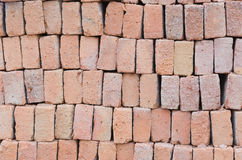Bricks are ready for construction stock photography
