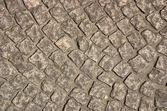 Bricks road. Surface Stock Images