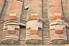 Bricks and Roof tiles Stock Photography