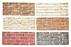 Bricks samples Stock Image