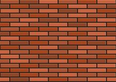 Bricks seamless texture. Vector illustration Stock Photography