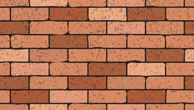 Bricks seamless texture Royalty Free Stock Image