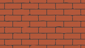 Bricks seamless texture Stock Image