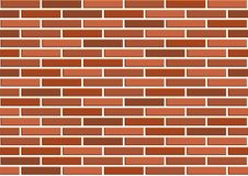 Bricks seamless texture. Vector illustration Royalty Free Stock Image