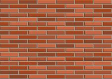 Bricks seamless texture. Vector illustration Stock Photo