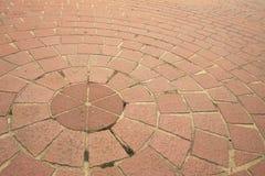 Bricks on a sidewalk Stock Image