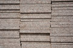 Bricks on site Royalty Free Stock Image