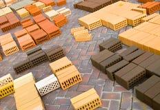 Bricks, slate. Royalty Free Stock Photos