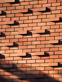 Bricks standing out Royalty Free Stock Image