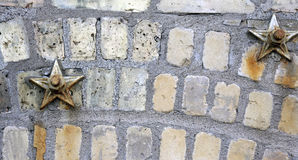 Bricks And Stars Stock Photos