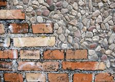 Bricks and stones Stock Photography