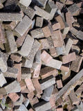 Bricks, stones in different view Royalty Free Stock Photography