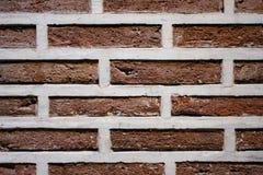 Bricks texture. Detail texture red brick wall Stock Images