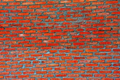 Bricks texture pattern for continuous replicate. The red bricks texture on wall royalty free stock image