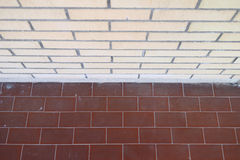 Bricks and tiles Royalty Free Stock Photo