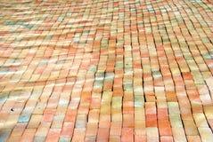 Bricks under water Stock Photography
