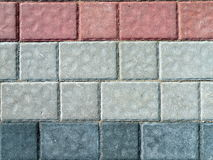 Bricks wall. Colorful bricks wall suitable as gackground Stock Images