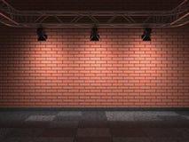 Bricks Wall. Stock Photo