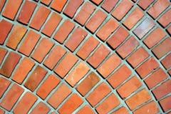 Bricks wall. Wall's part of red bricks Royalty Free Stock Images
