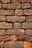 Bricks on the wall of the ancient Aguada Fort Royalty Free Stock Image