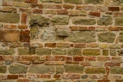 Bricks wall. A bricked wall texture background Royalty Free Stock Photo