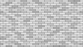 Bricks wall. 3d render of bricks texture with black gap Royalty Free Stock Photography