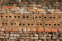 Bricks wall detail Royalty Free Stock Photography