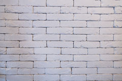 A bricks wall with finished color with light and shadow Stock Photography