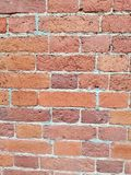 The bricks of the wall of an old house royalty free stock image
