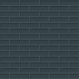 Bricks wall seamless background. Royalty Free Stock Image