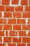 Bricks wall texture (1/2). Bricks wall texture at a construction site Stock Photography