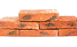 Bricks. On a white background Royalty Free Stock Images