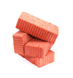 Bricks On White Royalty Free Stock Image