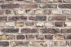 Brickstone wall - masonry at an old church Stock Image