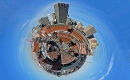 Bricktown del pianeta Fotografia Stock Libera da Diritti