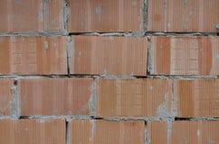 Brickwall纹理墙壁样式 库存照片