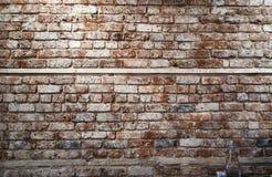 Brickwall с бутылкой Стоковое Фото