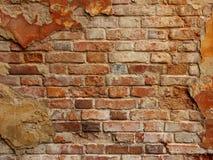 老brickwall 免版税库存照片