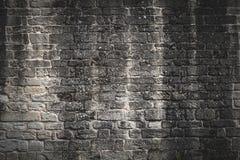 老brickwall 库存照片