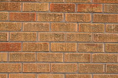 Brickwall. Close up of a brickwall showing unique pattern Royalty Free Stock Image