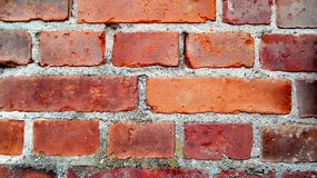 Brickwall background. Brickwall architecture clouse-up  textured backgrounds nopeople fullframe Stock Images