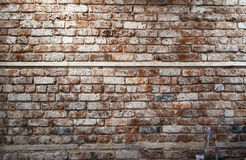 Brickwall with bottle Stock Photo