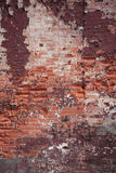 Brickwall colorido abstrato Fotografia de Stock Royalty Free