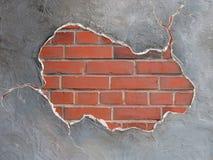 Brickwall Feld Lizenzfreies Stockfoto