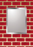 Brickwall frame Royalty Free Stock Images
