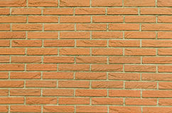 Brickwall horizontal background Stock Photos
