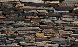 Brickwall. The Image shows a natural brick wall in the sun Stock Image